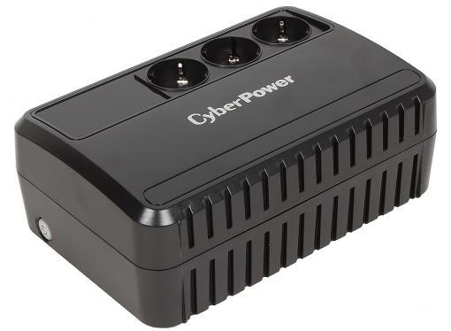 ИБП CyberPower BU600E 600VA/360W (3 EURO)