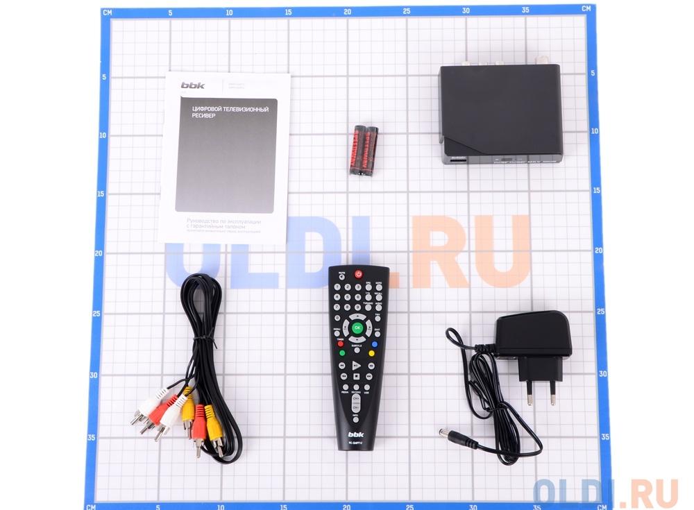Цифровой телевизионный DVB-T2 ресивер BBK SMP015HDT2 черный