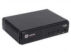Цифровой телевизионный DVB-T2 ресивер HARPER HDT2-1513