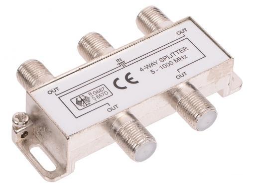 Антенный разветвитель Belsis SP3068 (1 на 4 направления, 1'000 МГц)
