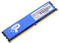 Память DDR4 4Gb (pc-17000) 2133MHz with HS Patriot PSD44G213381H