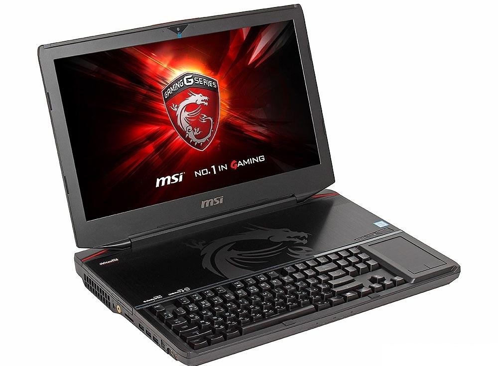 Ноутбук MSI GT80S 6QE(Titan SLI)-296RU i7-6820HK (2.7)/16Gb/1Tb+128Gb SSD/18.4