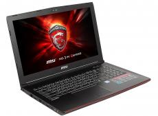 Ноутбук MSI GP62 7RE(Leopard Pro)-659RU i7-7700HQ (2.8)/8GB/1TB/15.6