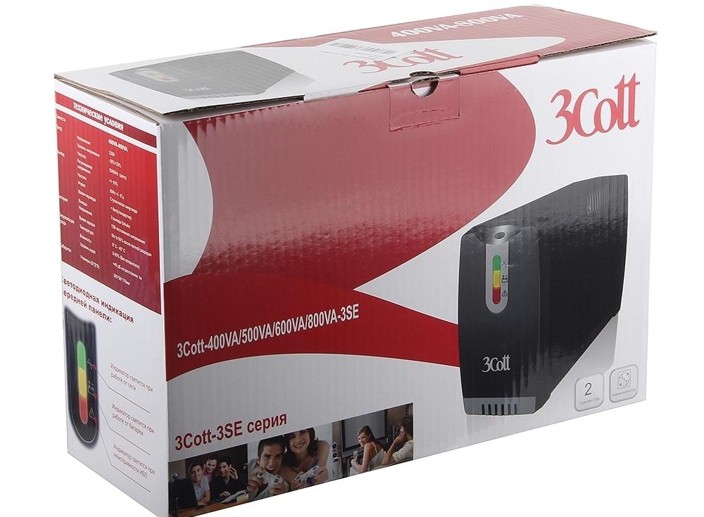 ибп 3cott 500va-3se 300w avr 3*shuko линейно-интерактивный