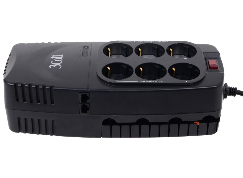 Стабилизатор напряжения 3Cott 2000VA-AVR 3*AVR + 3*Surge Protector, RJ-11/RJ-45