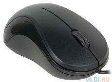 Мышь Gembird MUSOPTI9 -900U, черный, USB, 1000DPI