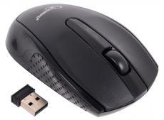 Мышь беспров. Gembird MUSW-217, черн, 2кн.+колесо-кнопка, 2.4ГГц, 1000 dpi