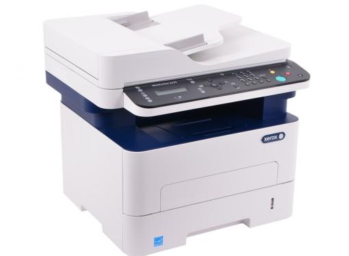 МФУ Xerox WorkCentre 3225DNI (A4, лазерный принтер/сканер/копир/факс, 28стр/мин, до 30K стр/мес, 256MB, Ethernet, ADF, Duplex)
