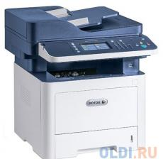 МФУ Xerox WorkCentre 3335DNI (A4, лазерный принтер/сканер/копир/факс, до 35 стр/мин, до 50K стр/мес, 1.5Gb/USB, Ethernet, WiFi, Duplex)