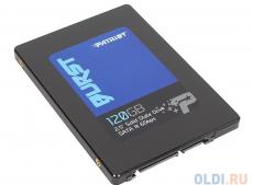 SSD накопитель Patriot BURST PBU120GS25SSDR 120GB SATA III/2.5