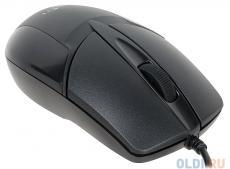 Мышь Oklick 145M black optical (1000dpi) USB (2but)