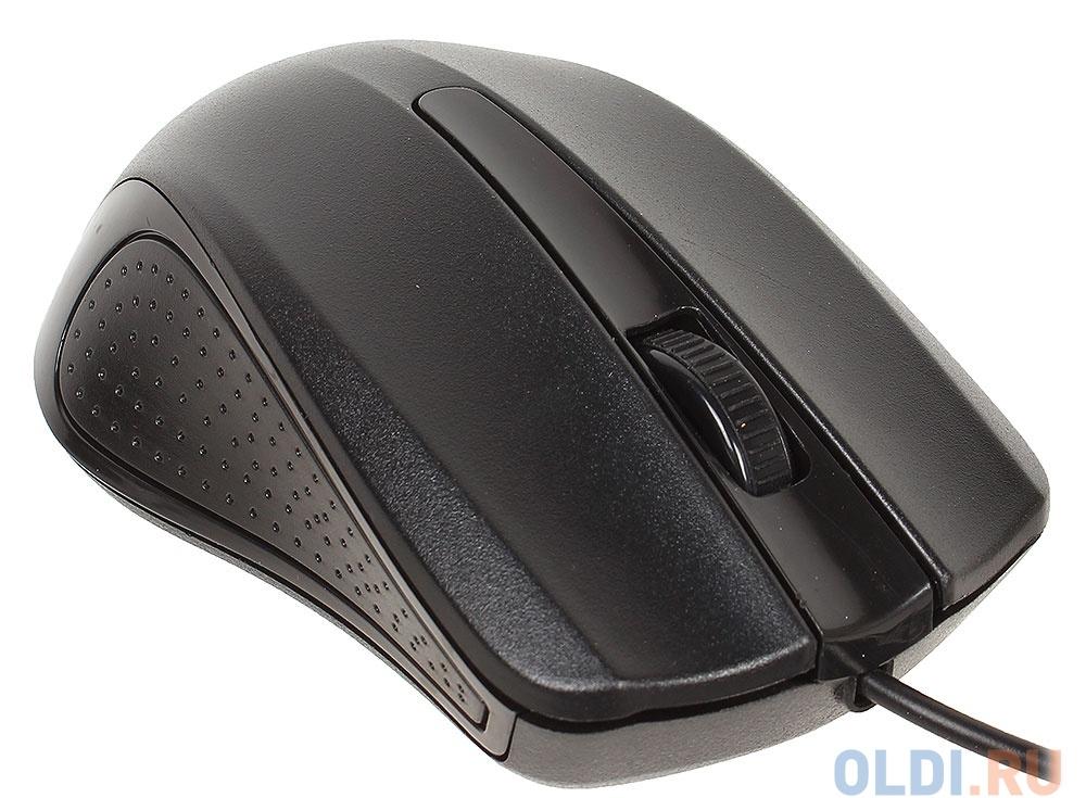 Клавиатура + мышь Oklick 600M kb:black mou:black USB